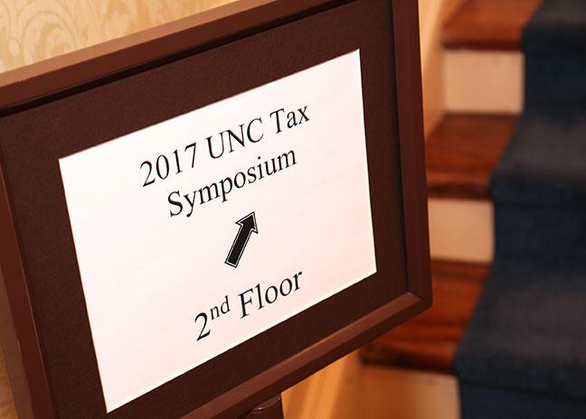 2017 Tax Symposium